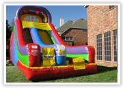Bedford inflatable slide