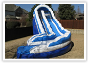 Arlington inflatable slide