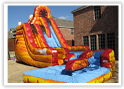 Colleyville inflatable slide