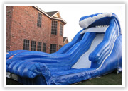 hurst inflatable slide