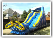 flower mound inflatable slide